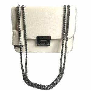🆕 Henri Bendel Rivington Flap Leather Handbag